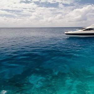Outrigger Konotta Maldives Resort - Luxury Maldives Honeymoon Packages - yacht