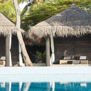 Poolside Dining Outrigger Konotta Maldives Resort Maldives Honeymoons