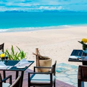 Tides Restaurant 2 - Layana Resort Koh Lanta - luxury thailand honeymoon packages