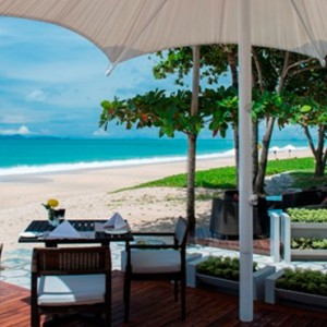 Tides Restaurant - Layana Resort Koh Lanta - luxury thailand honeymoon packages