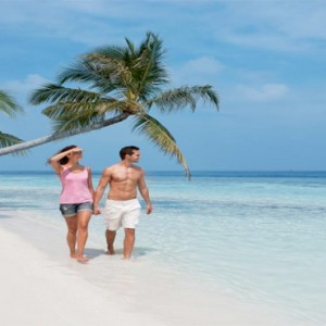 Vilamendhoo Island resort and spa - Luxury Maldives Honeymoon Packages - beach