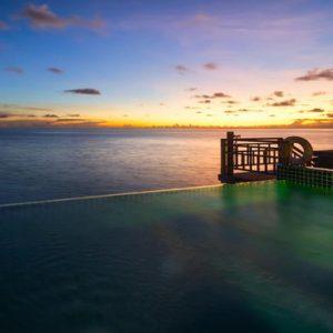 Water Villa Pool At Night Outrigger Konotta Maldives Resort Maldives Honeymoons