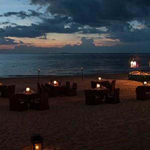 beach bbq - Layana Resort Koh Lanta - luxury thailand honeymoon packages