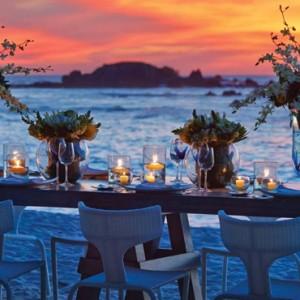 beach dinner 2 - Four Seasons Punta Mita - Luxury Mexico Holidays