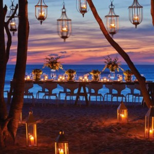 beach dinner - Four Seasons Punta Mita - Luxury Mexico Holidays