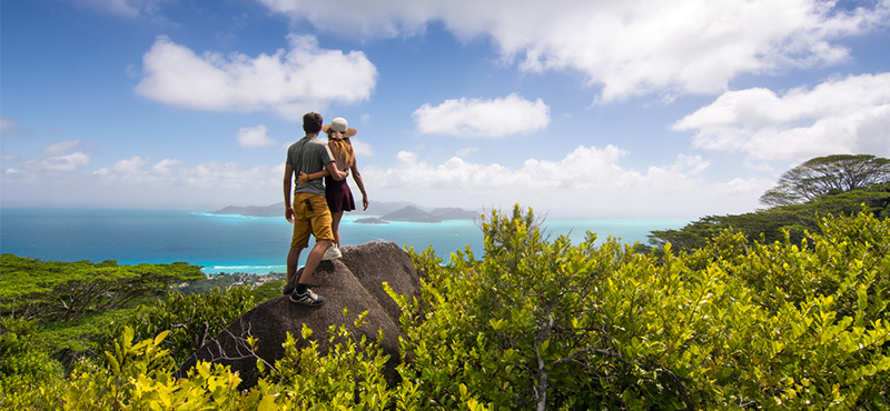 hiking - 5 things you must see on your seychelles honeymoon - luxury seychelles honeymoon packages