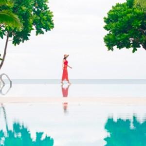 infinity pool - Layana Resort Koh Lanta - luxury thailand honeymoon packages
