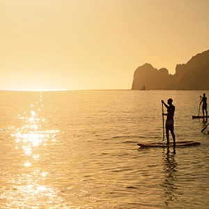 paddleboarding - Breathless Cabos San Lucas - Luxury Mexico Honeymoon Packages