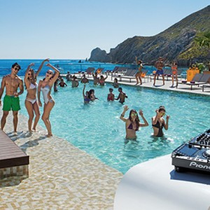 pool party 2 - Breathless Cabos San Lucas - Luxury Mexico Honeymoon Packages