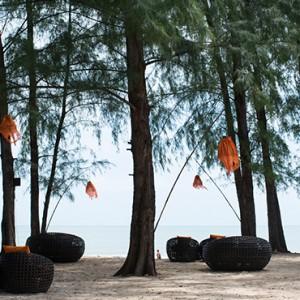 sands bar - Layana Resort Koh Lanta - luxury thailand honeymoon packages