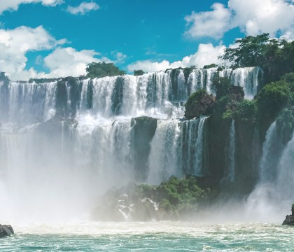 a picture of South America