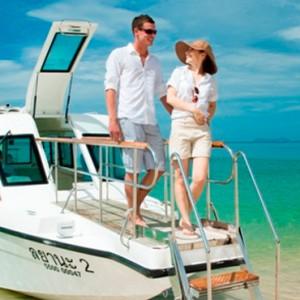 sunset cruise - Layana Resort Koh Lanta - luxury thailand honeymoon packages