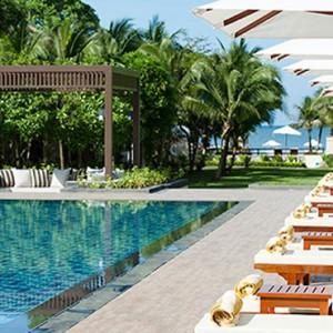 wellness pool 2 - Layana Resort Koh Lanta - luxury thailand honeymoon packages