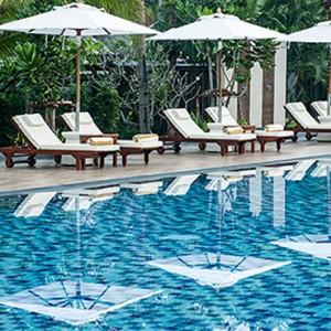 wellness pool 3 - Layana Resort Koh Lanta - luxury thailand honeymoon packages