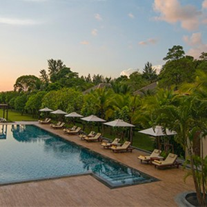 wellness pool 4 - Layana Resort Koh Lanta - luxury thailand honeymoon packages