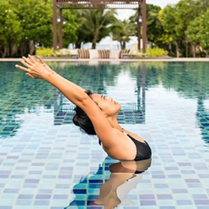 wellness pool 5 - Layana Resort Koh Lanta - luxury thailand honeymoon packages