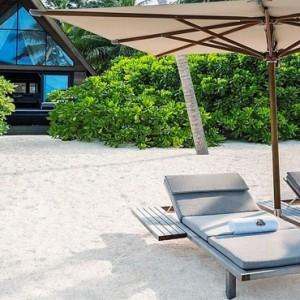 Beach Villa with Pool 4 - st regis maldives vommuli - luxury maldives holidays