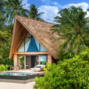 Beach Villa with Pool 7 - st regis maldives vommuli - luxury maldives holidays