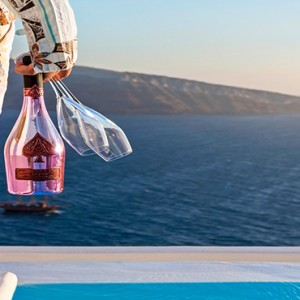 Charisma Suites Santorini - Luxury Greece Honeymoon packages - Caldera view
