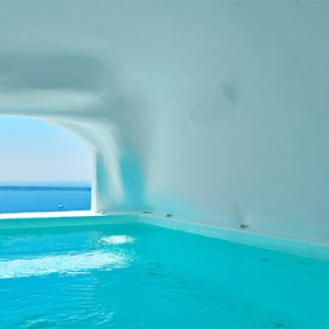 Charisma Suites Santorini - Luxury Greece Honeymoon packages - Charisma Pool suite with Caldera view pool