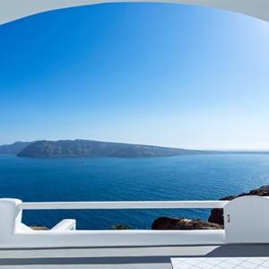 Charisma Suites Santorini - Luxury Greece Honeymoon packages - Senior suites view