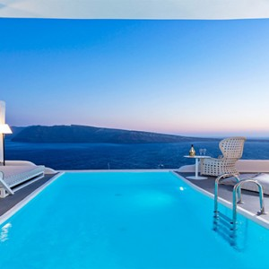 Charisma Suites Santorini - Luxury Greece Honeymoon packages - pool