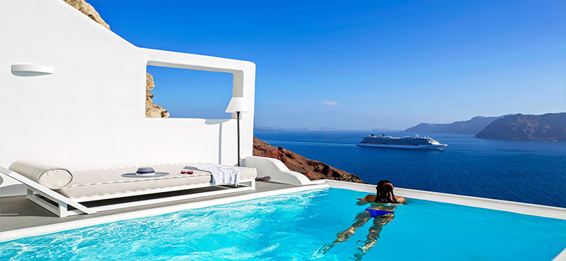 Honeymoon Destinations In Greece: Charisma Suites Santorini