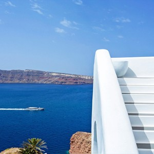 Charisma Suites Santorini - Luxury Greece Honeymoon packages - stunning view