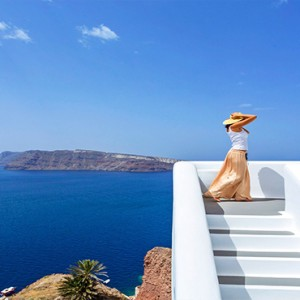 Charisma Suites Santorini - Luxury Greece Honeymoon packages - stunning view2