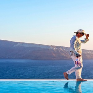 Charisma Suites Santorini - Luxury Greece Honeymoon packages - stunning view3