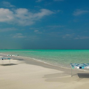 Cocoon Maldives - Luxury Maldives Honeymoon Packages - dining on beach