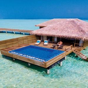 Cocoon Maldives - Luxury Maldives Honeymoon Packages - water villa view