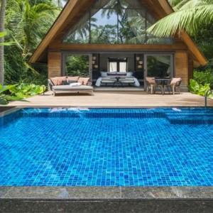 Garden Villa with Pool 3 - st regis maldives vommuli - luxury maldives holidays