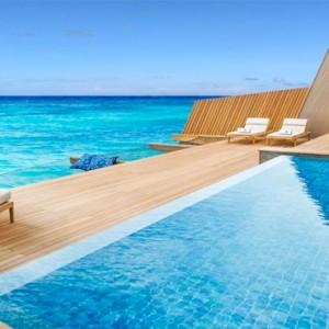Overwater Villa with Pool - st regis maldives vommuli - luxury maldives holidays