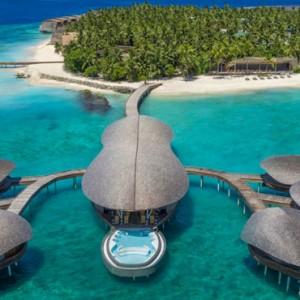 SPA exterior - st regis maldives vommuli - luxury maldives holidays