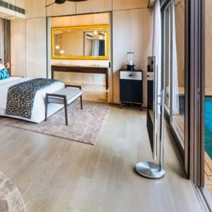 Sunset Overwater Villa With Pool 3 - st regis maldives vommuli - luxury maldives holidays