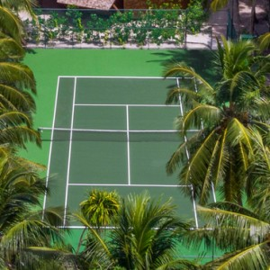 tennis - st regis maldives vommuli - luxury maldives holidays