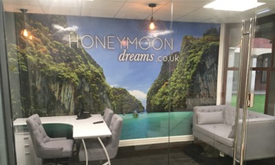 Visit our Honeymoon Suite in our new Birmingham Office