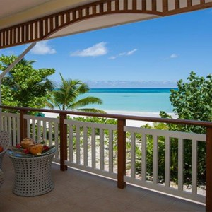 Acajou Beach Resort - Luxury Seychelles Honeymoon Packages - Balcony