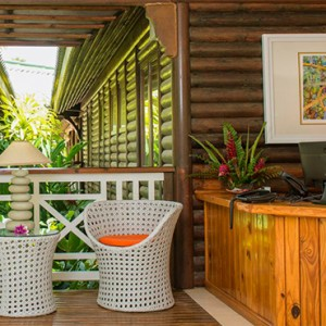 Acajou Beach Resort - Luxury Seychelles Honeymoon Packages - Reception
