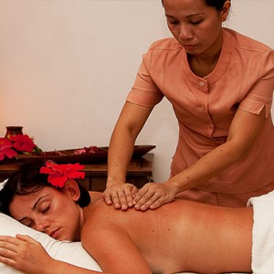 Acajou Beach Resort - Luxury Seychelles Honeymoon Packages - Spa massage