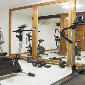 Acajou Beach Resort - Luxury Seychelles Honeymoon Packages - gym fitness
