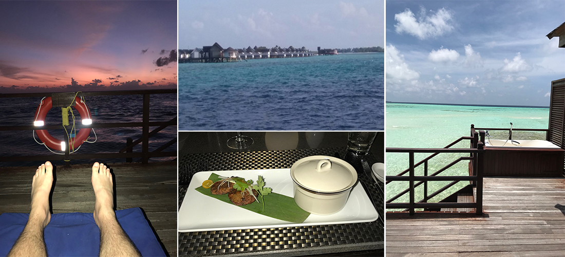 Leigh Maldives fam trip 2017 dining