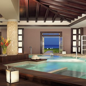 Sandals St James Montego Bay - Luxury Jamaica Honeymoon Packages - Spa circuit