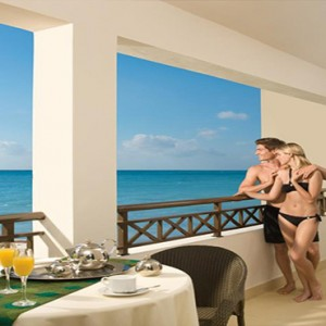 Sandals St James Montego Bay - Luxury Jamaica Honeymoon Packages - balcony view