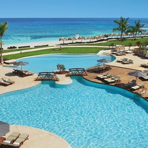 Sandals St James Montego Bay - Luxury Jamaica Honeymoon Packages - exterior pool
