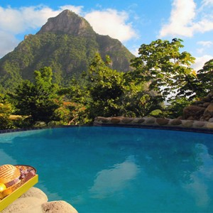Southfield Estate Resort - Luxury St Lucia honeymoon Packages - One bedroom villa with garden view