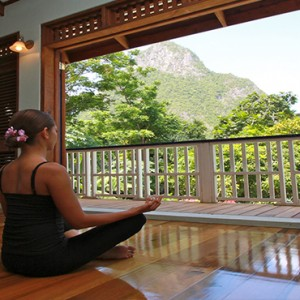 Southfield Estate Resort - Luxury St Lucia honeymoon Packages - Yoga