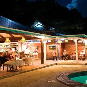 Southfield Estate Resort - Luxury St Lucia honeymoon Packages - restaurants