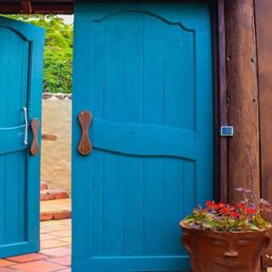 Southfield Estate Resort - Luxury St Lucia honeymoon Packages - room doorway